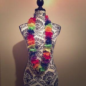 Hawaiian Flower Necklace